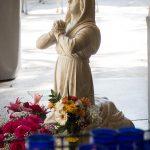 St. Bernadette. Flowers at St. Bernadette