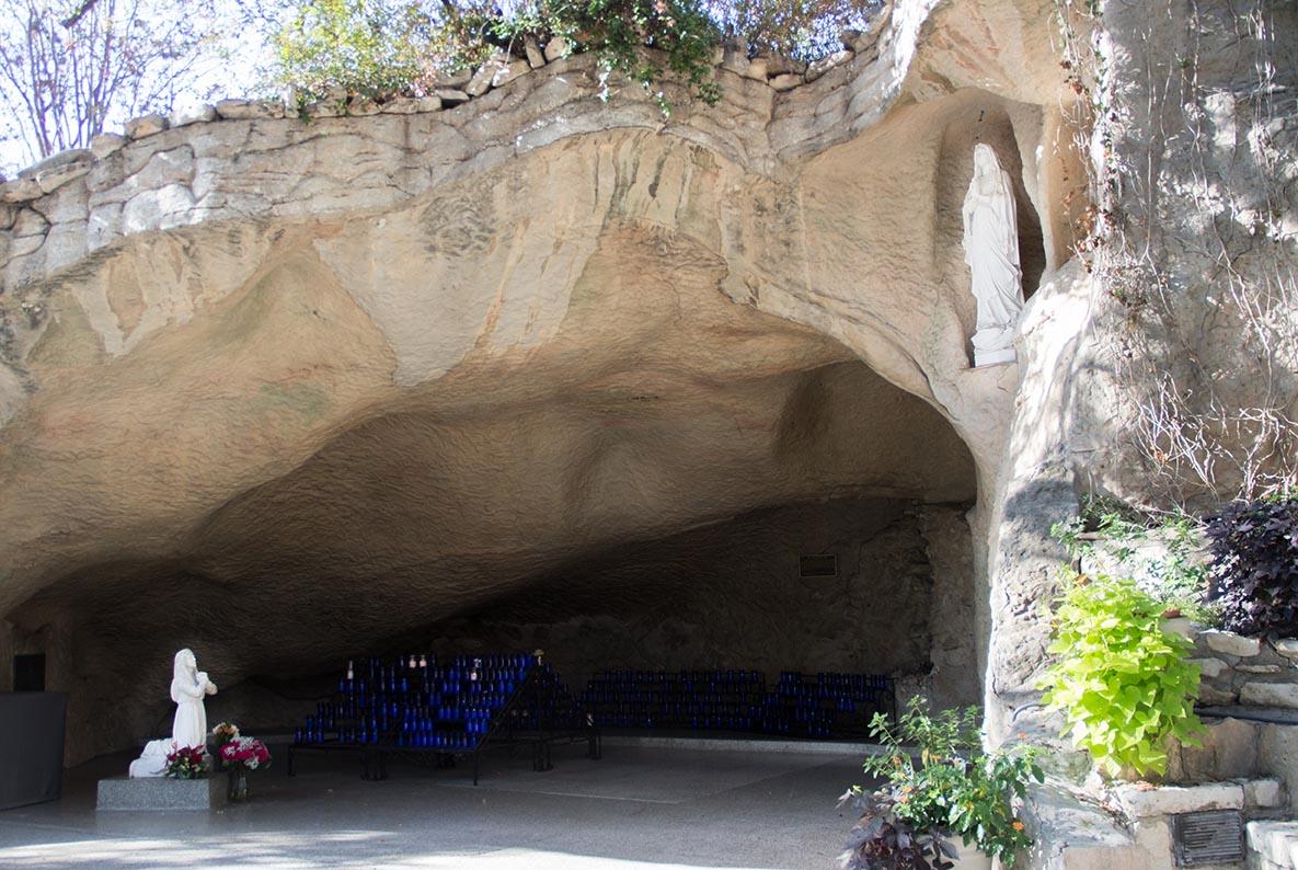 LourdesGrottoand GuadalupeTepeyac